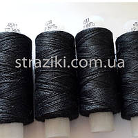 № 45 нитка черная 200м Армированная (100% полиэфир)