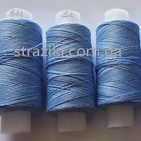№ 45 нитка голубая 200м Армированная (100% полиэфир)