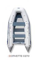 Надувная лодка Grand Marine CORVETTE C270 с жестким дном и надувным килем - GRAND C270