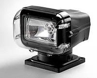 Прожектор 970, галогенная лампа, черный корпус, ДУ+кабель, подключение - нижнее - SL025-CBP-12V-SS