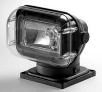 Прожектор 962, галогенная лампа, черный корпус, ДУ+кабель, подключение - нижнее - SL96261-CBP-12V-SS