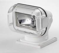 Прожектор 962, галогенная лампа, белый корпус, ДУ+кабель, подключение - нижнее - SL96261-CWP-12V-SS
