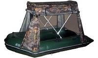 Тент с каркасом для надувных лодок Колибри КМ300 - КМ330Д - KOLIBRI-TENT-KM330