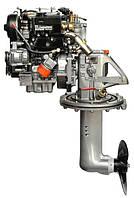 Стационарный лодочный мотор Lombardini LDW  502 SD c приводом SailDrive (13 л.с.) - Lombardini-LDW-502SD