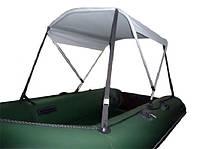 Солнцезащитный тент для надувных лодок Колибри КМ300 - КМ360Д - KOLIBRI-TENT2-KM360