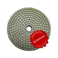 Алмазные липучки Ф100 мм. для камнеобработки StoneCraft-А класс для полировки с водой и на сухо.