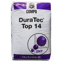 Комплексное минеральное удобрение DuraTec (Дюратек) Top 14, 25кг, NPK 14-7-14 + ME
