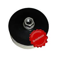 Войлок, круги войлочные белые на основе М14 Ф100 мм. толщина 40 мм. для полировки габбро, камня, гранита и мра