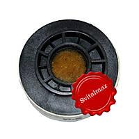 Войлок, круги войлочные белые на улитке Ф100 мм. толщина 30 мм. для полировки габбро, камня, гранита и мрамора