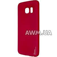 Силиконовый чехол Baseus Soft-touch для Samsung Galaxy S6 Edge (G925F) красный
