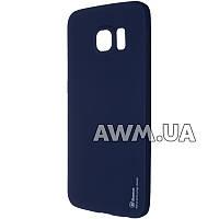 Силиконовый чехол Baseus Soft-touch для Samsung Galaxy S6 Edge (G925F) синий