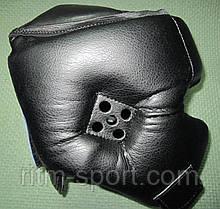 Шлем черный Boxing с усиленной защитой, фото 3