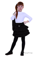 Юбка школьная черная для девочки ТМ Пурпурино арт.224201