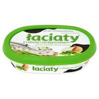 Сыр Лачати Faciaty cream cheese с зеленью и цибулей 135г