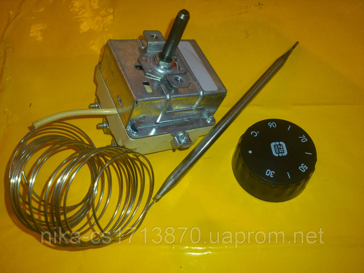 Терморегулятор MMG - 90 ℃ / 3-х полюсный капилярный 2.2 м. производство Венгрия