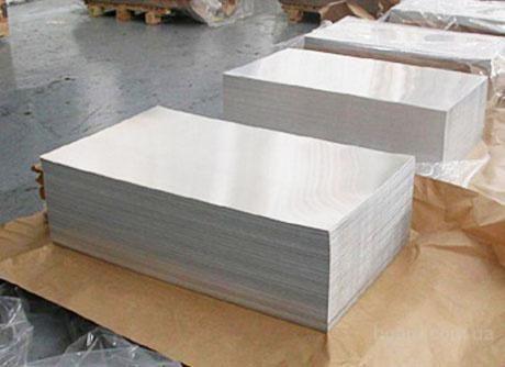 Алюминиевый лист АМГ3М 0.8х1200х3000 ГОСТ купить с доставкой по Украине. алюминий, лист, труба.
