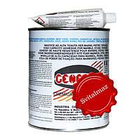 Клей мастика на основе полиэстеровой смолы General Transparento Verticale объёмом 1 литр прозрачного цвета для