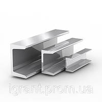 Алюминиевый швеллер ГОСТ АД31 10х15х10х1 длина 6м цена купить швеллера 15х12х15х2, 20х20х20х1,5 Айгрант