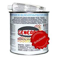 Клей мастика на основе полиэстеровой смолы General Paglierino Verticale объёмом 1 литр бежевого цвета для скле