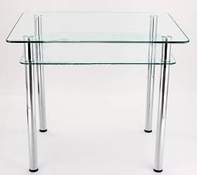 Стол стеклянный прямоугольный SSPII