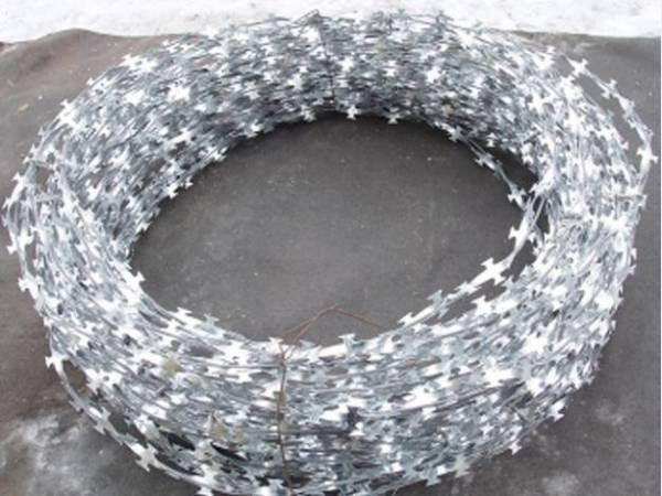 Егоза диаметром 400;450;650 мм с 3-мя скобам ГОСТ доставка по Украине, колючая проволока. Казачка