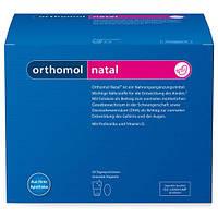 Витаминный комплекс для беременных и кормящих мам Ортомол Натал (ORTHOMOL Natal), порошок/капсулы (30 дней)