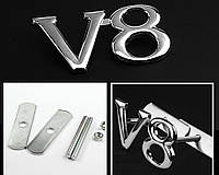 Эмблема решетки радиатора V8