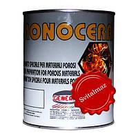 Воск густой Monocera Nera General (чёрный) объёмом 1 литр для камня габбро, гранита, мрамора.