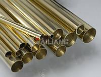Латунная труба ф 12х1.5мм Л63 мерная   ГОСТ цена купить доставка, порезка по розмерам.