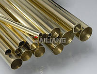 Латунная труба ф 12х1.5мм Л63 мерная   ГОСТ цена купить доставка, порезка по розмерам., фото 1