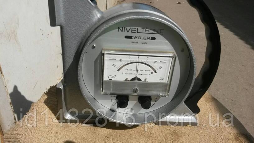 Уровень электронный микрометрический niveltronic wyler