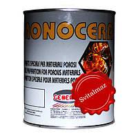 Воск густой Monocera Rossa General (красный) объёмом 1 литр для камня габбро, гранита, мрамора.