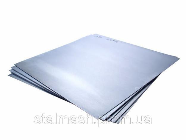 Лист AISI 430 ВА 0,5х1000х2000 плівка