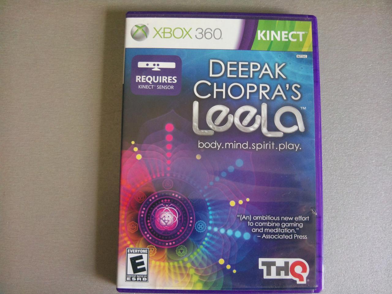 Игра xbox 360 KINECT Deepak Chopra's Leela регион NTSC - USmag в Черновцах