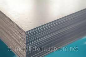 Лист н/ж 201 0,4 (1,0х2,0) 2В листи нержавіюча сталь, неіржавіюча сталь, ціна, купити, гост, стали