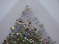 Стразы для ногтей ss4 crystal AB 1440шт. (1,5-1,6мм)