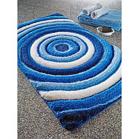 Коврик для ванной Confetti Efesus pastel mavi (голубой) 60х100