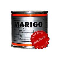 Краска серебристого цвета Marigo (Мариго) объёмом 100 мл. для покрытия серебром камня гранита и мрамора.