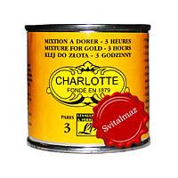 Лак для сусального золота CHARLOTTE 3 часовой объём 100 мл. для оклейки надписей на камня.