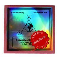Золото сусальное Noris Rosenoble Doppel Gold 23.75 karat для золочения букв на памятниках (не клееное).