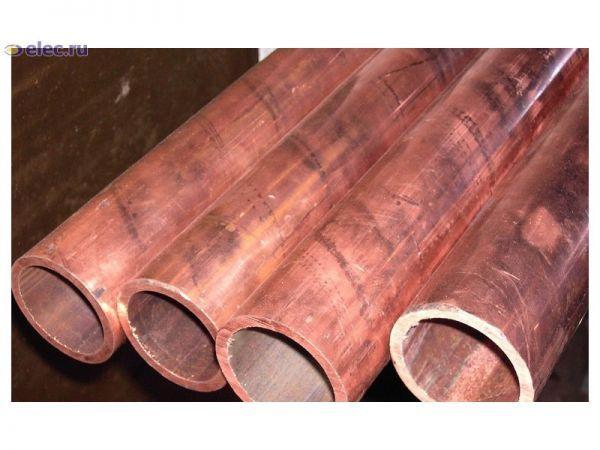 Медная труба М1 М2 ф 195х3 мм мягкая, твёрдая в бухте, ГОСТ купить