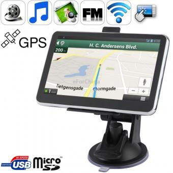 GPS HD навигатор 5 дюймов 4gb Cortex-A7 800mHz - OptBaza в Харькове