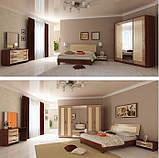 Спальня Віола Ваніль - Вишня Бюзум, фото 2
