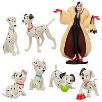 Игровой набор 101 далматинец дисней Disney 101 Dalmatians 101 Dalmatians Figurine Playset Exclusive