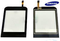 Touchscreen (сенсорный экран) для Samsung C3310, оригинал (черный)