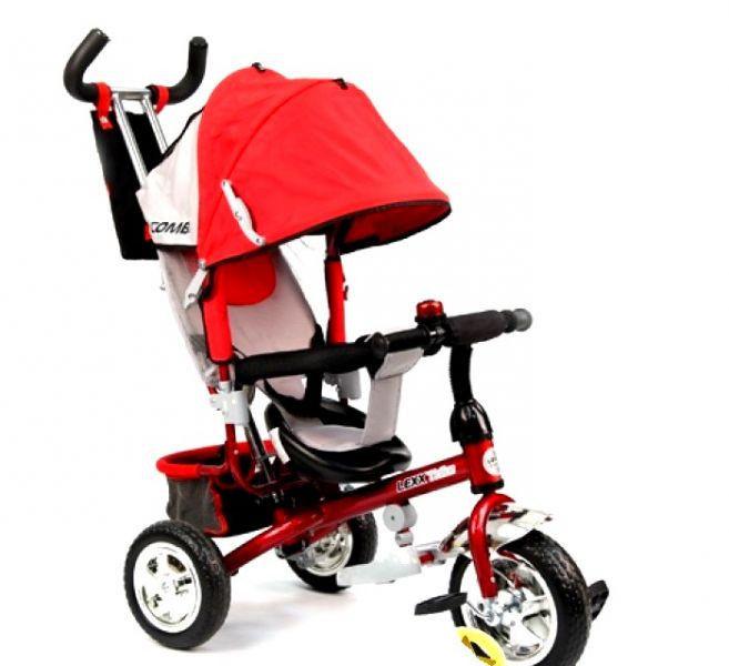 Трехколесный велосипед Lexx Trike QAT-017 красный