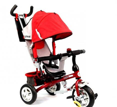 Трехколесный велосипед Lexx Trike QAT-017 красный, фото 2