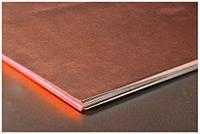 Медь лист, плита, 40х600х1500 М1м медный лист прокат медный, М1 М2 ГОСТ цена купить с доставкой по Украине.  ООО Айгрант