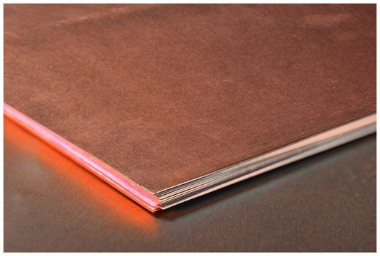 Медь лист, плита 0.6х600х1500 М1 медный прокат, вес, кг, розмер листа  М1 М2 ГОСТ цена купить