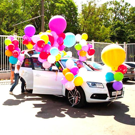 шарики для украшения авто